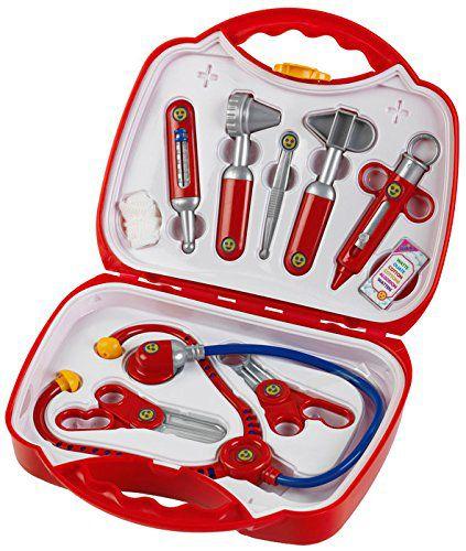 klein 4383 zestaw lekarski w walizce redni zabawki figurki i zestawy zabawki przybory i. Black Bedroom Furniture Sets. Home Design Ideas