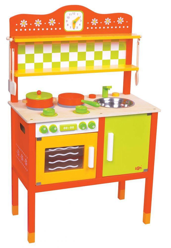 Lelin L40066 Drewniana kuchnia smakosza 24 części   -> Kuchnia Gazowa Polmetal Czesci
