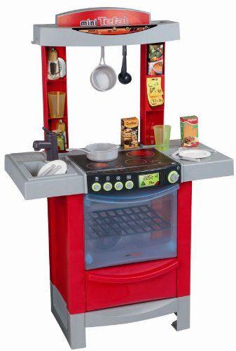 Smoby 24147 Kuchnia Cook Tronic mini Tefal dźwięki   -> Kuchnia Dla Dzieci Mini Tefal