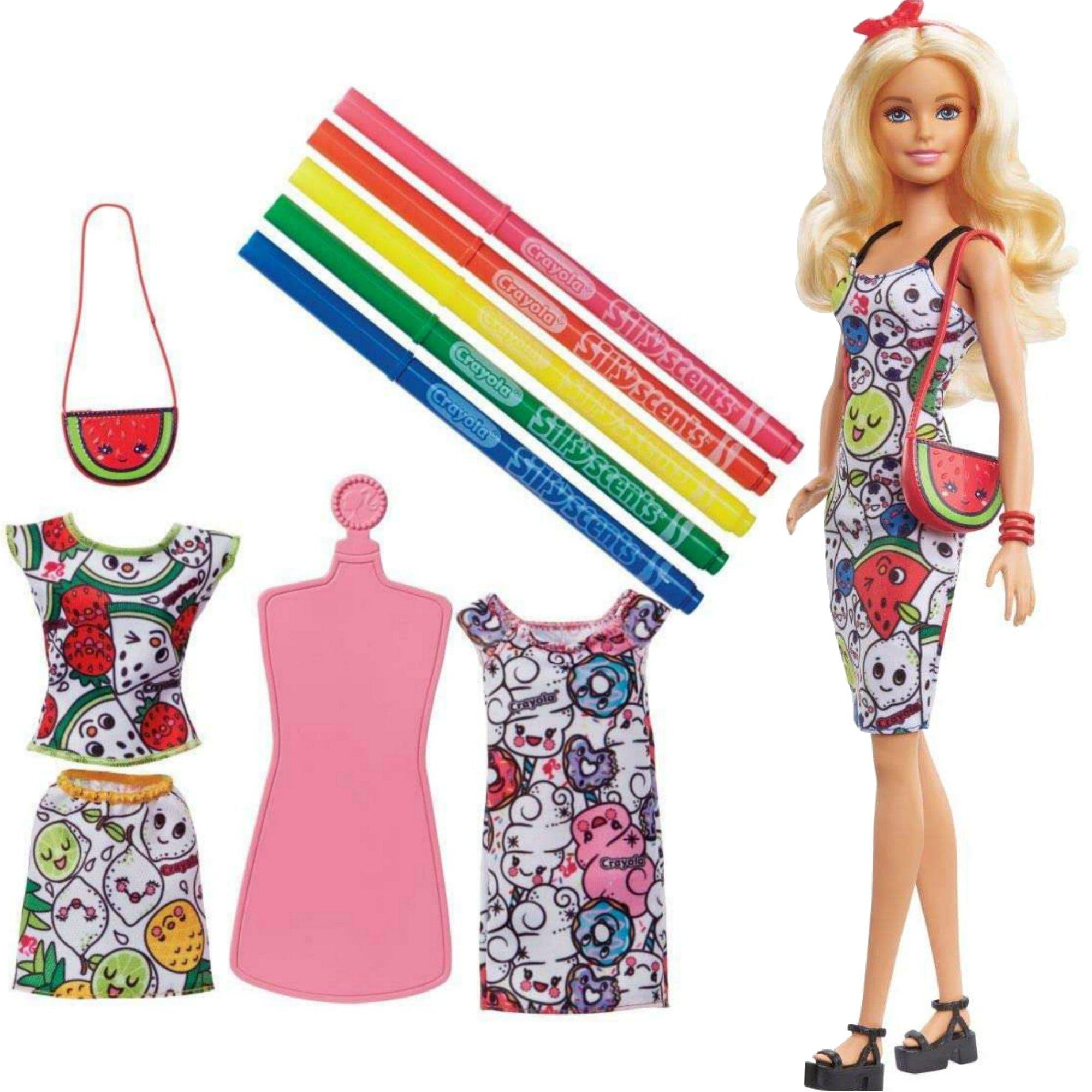 Mattel GGT44 Barbie Crayola Lalka Pachn±ce kolory