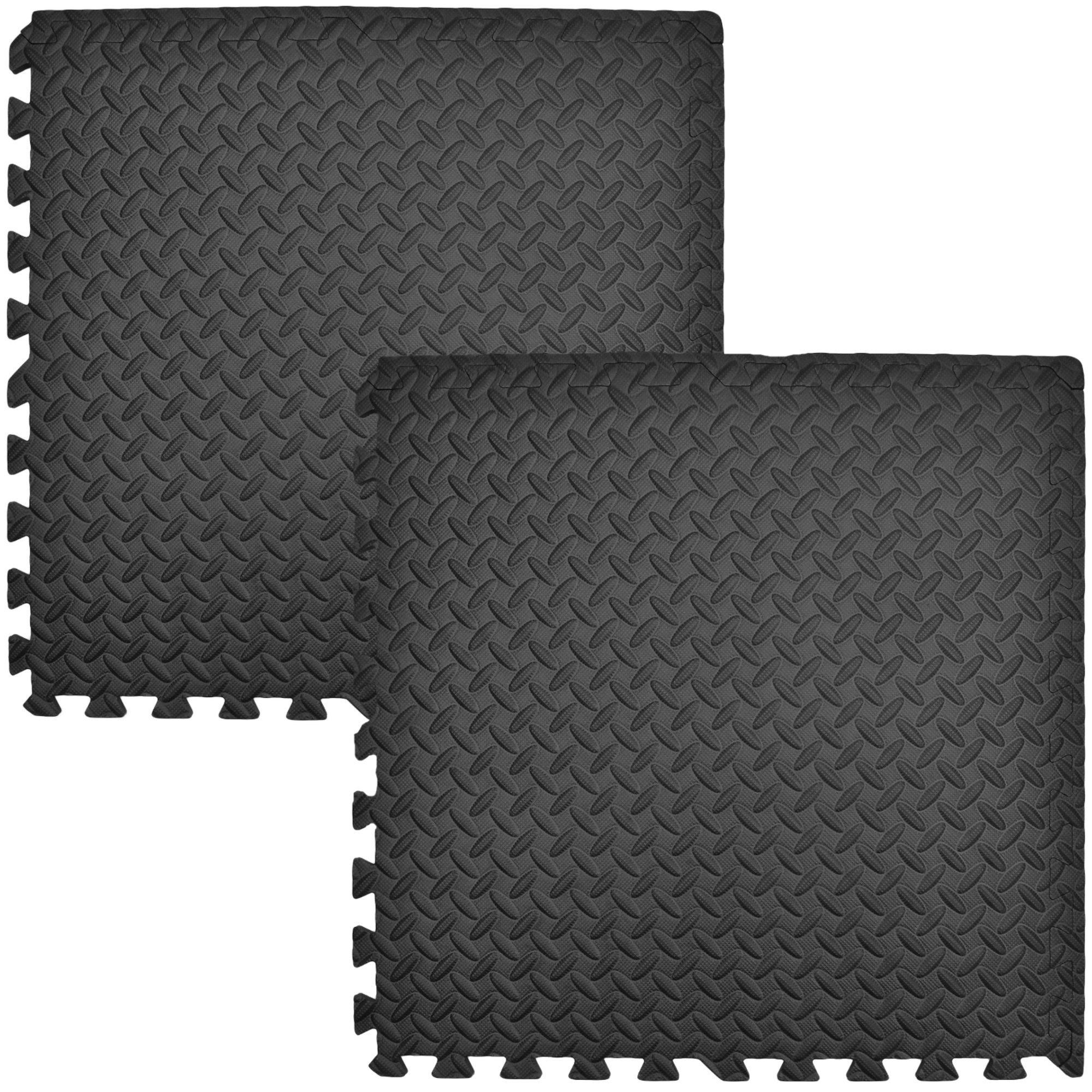 Humbi Mata piankowa puzzle piankowe fitness 2 szt. czarny 62 x 62 x 1 cm