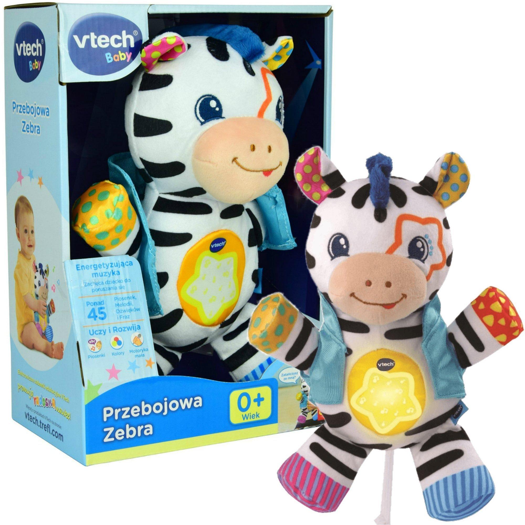 vTech Baby Przebojowa Zebra Pluszowa interaktywna maskotka