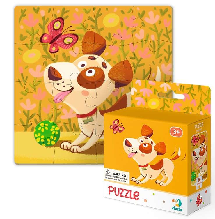 Dodo 300111 Puzzle 16 el. Piesek