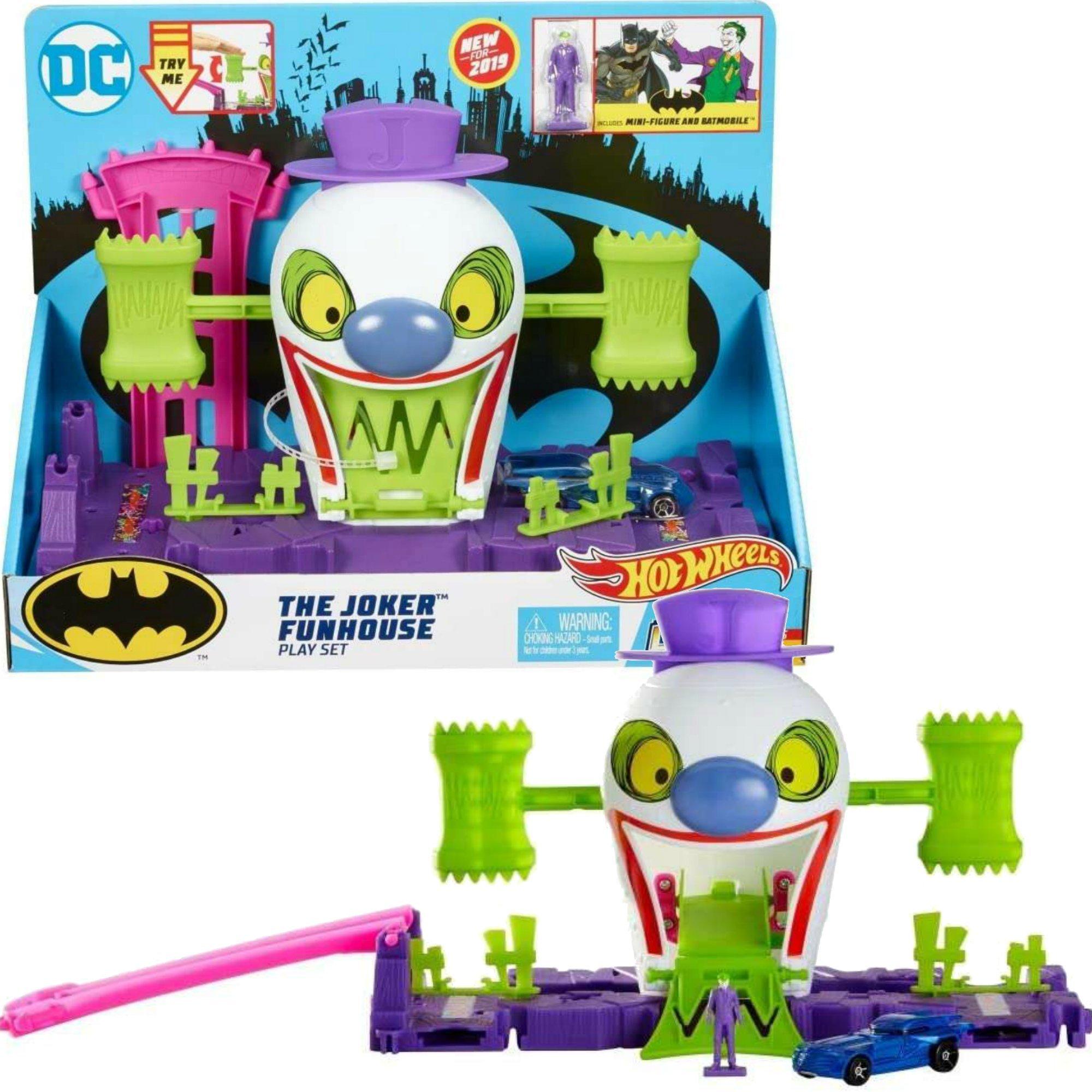 Hot Wheels City zestaw Joker tor z pojazdem i figurk±