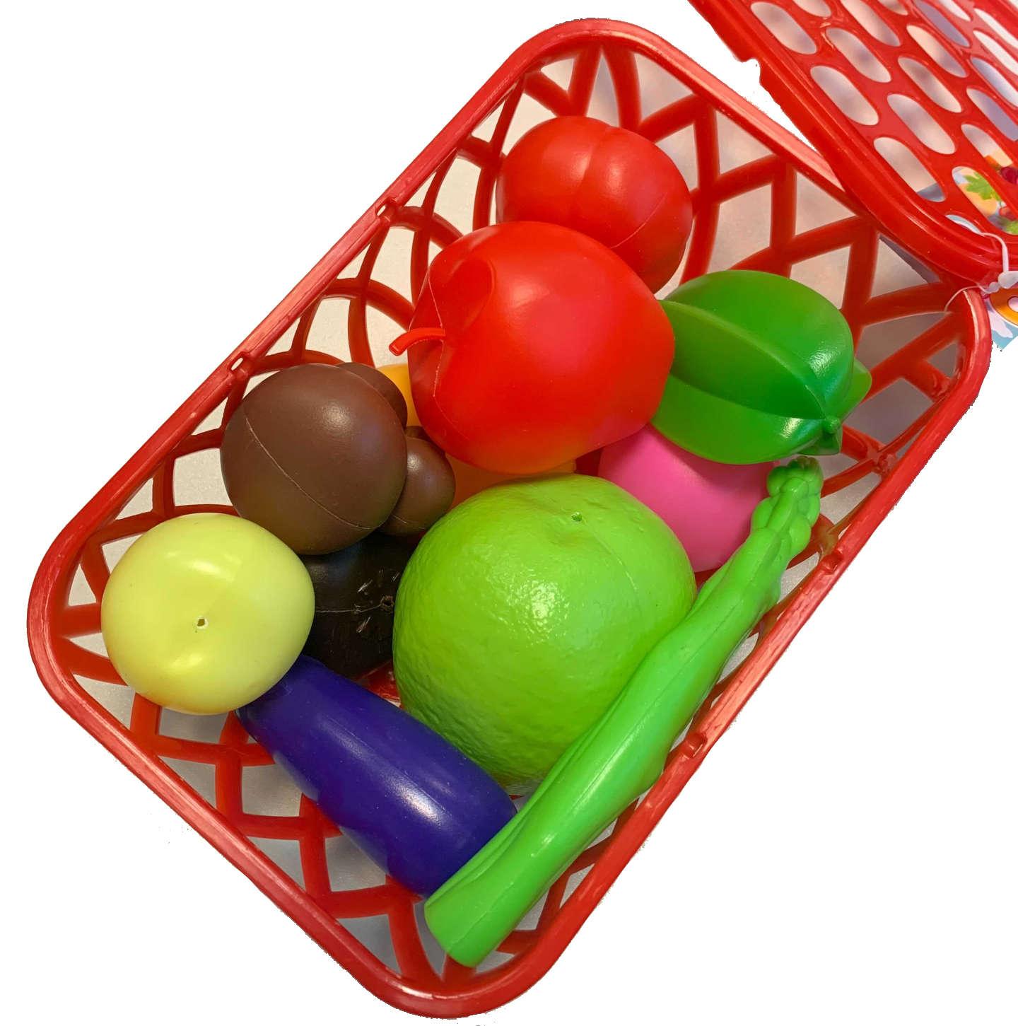 Anek Owoce i warzywa w koszyku