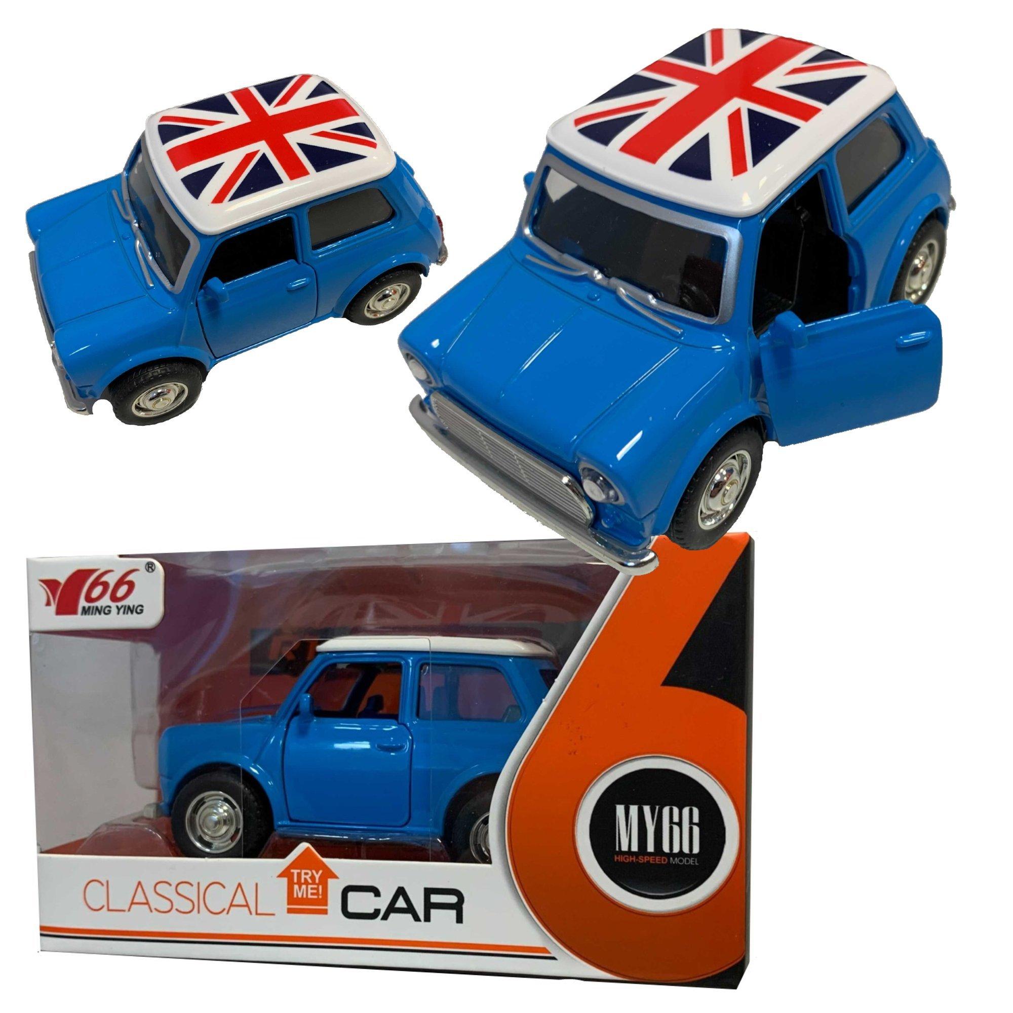 Anek MY66-Q1222 Auto ze swiat³ami Mini niebieski