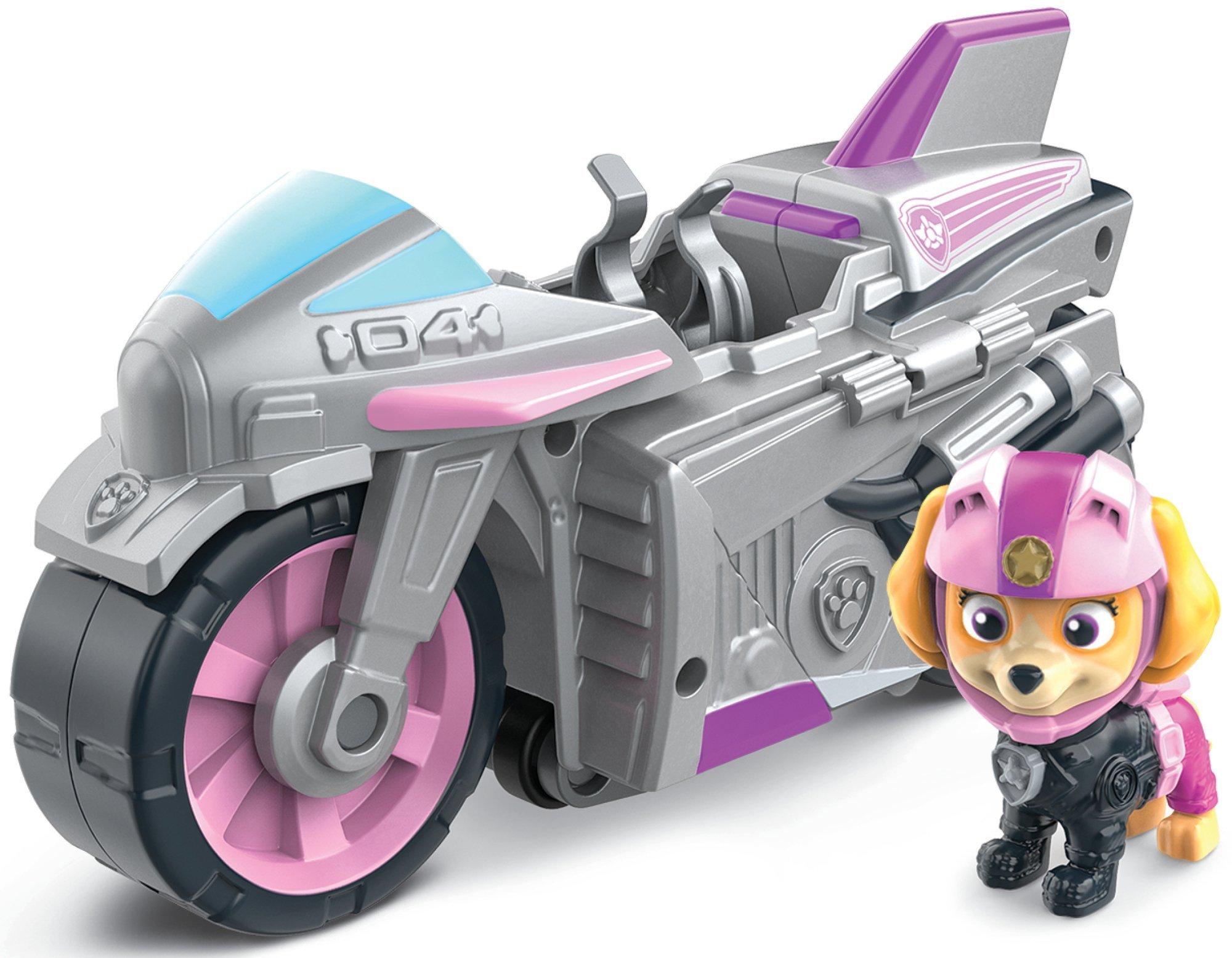 Psi Patrol Moto Pups Skye figurka i motocykl deluxe Spin Master