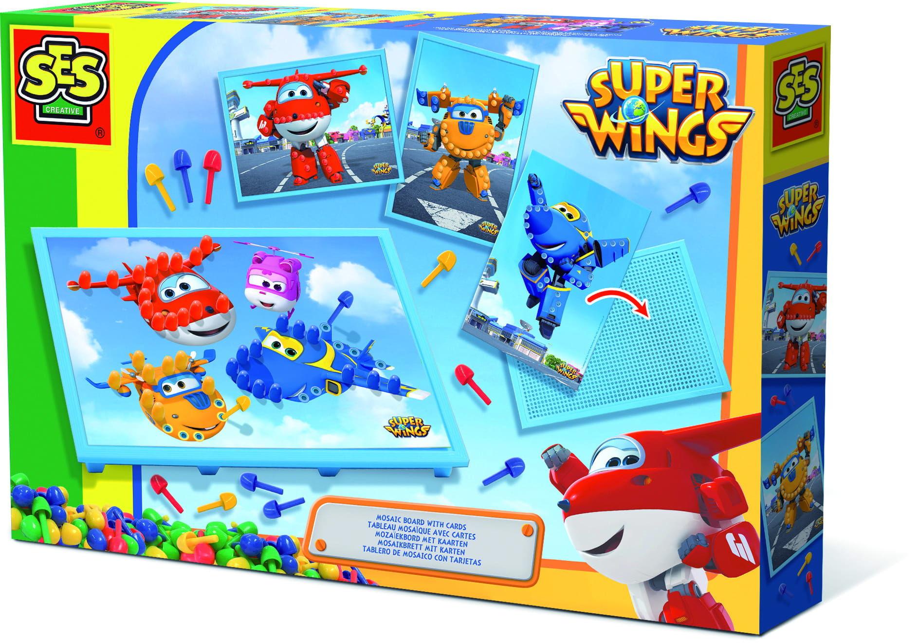 Alpha Super Wings Tablica do uk³adania mozaik