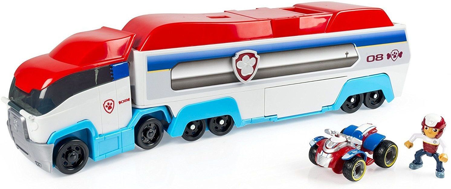 Toys For Trucks Wisconsin : Psi patrol transporter patroler patrolowiec ciężarówka