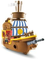 Fisher-Price Jake i piraci z Nibylandii Łajbek Statek piratów BDH86