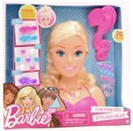Just Play 61440 Barbie Fab Friends głowa do stylizacji