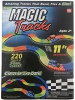 Magic Tracks Tor wyścigowy i Autko 3 LED