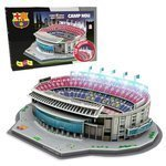 Puzzle 3D Model stadionu Camp Nou (Barcelona) LED 34402