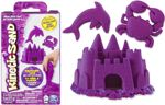 Spin Master 20080709 Kinetic Sand Piasek kinetyczny fioletowy 227g