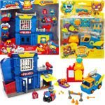 Super Zings 2 zestawy posterunek policji i bakery blast Magic Box Superzings