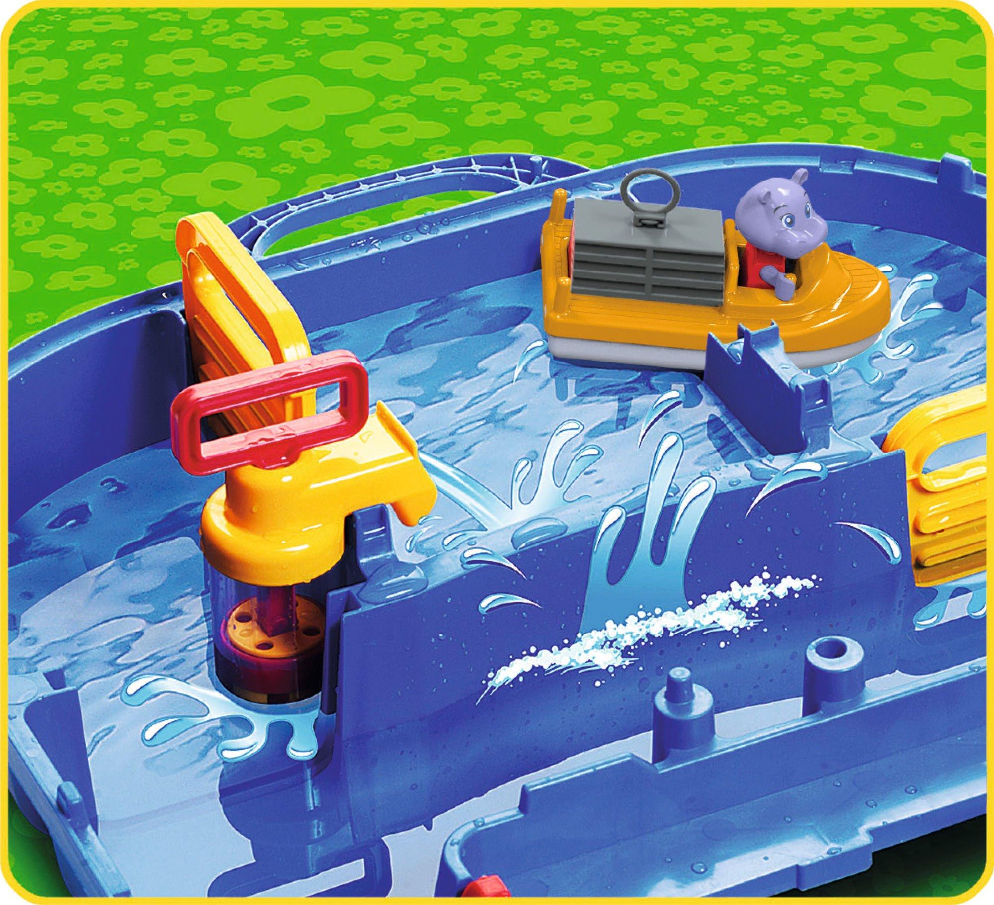Big AquaPlay Tor Wodny 86x65 Zamykany w walizce Box 2w1