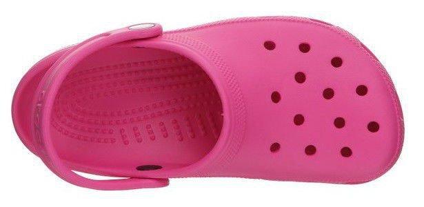 popularna marka najniższa cena Nowe zdjęcia Crocs Classic Kids Fuchsia Różowe klapki dla dzieci Fuksja