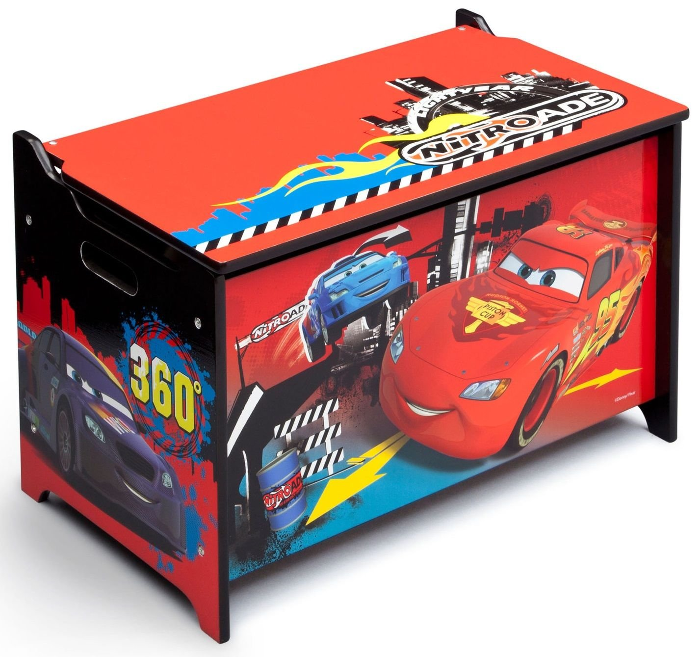 delta cars auta pojemnik na zabawki zabawki pojemniki. Black Bedroom Furniture Sets. Home Design Ideas