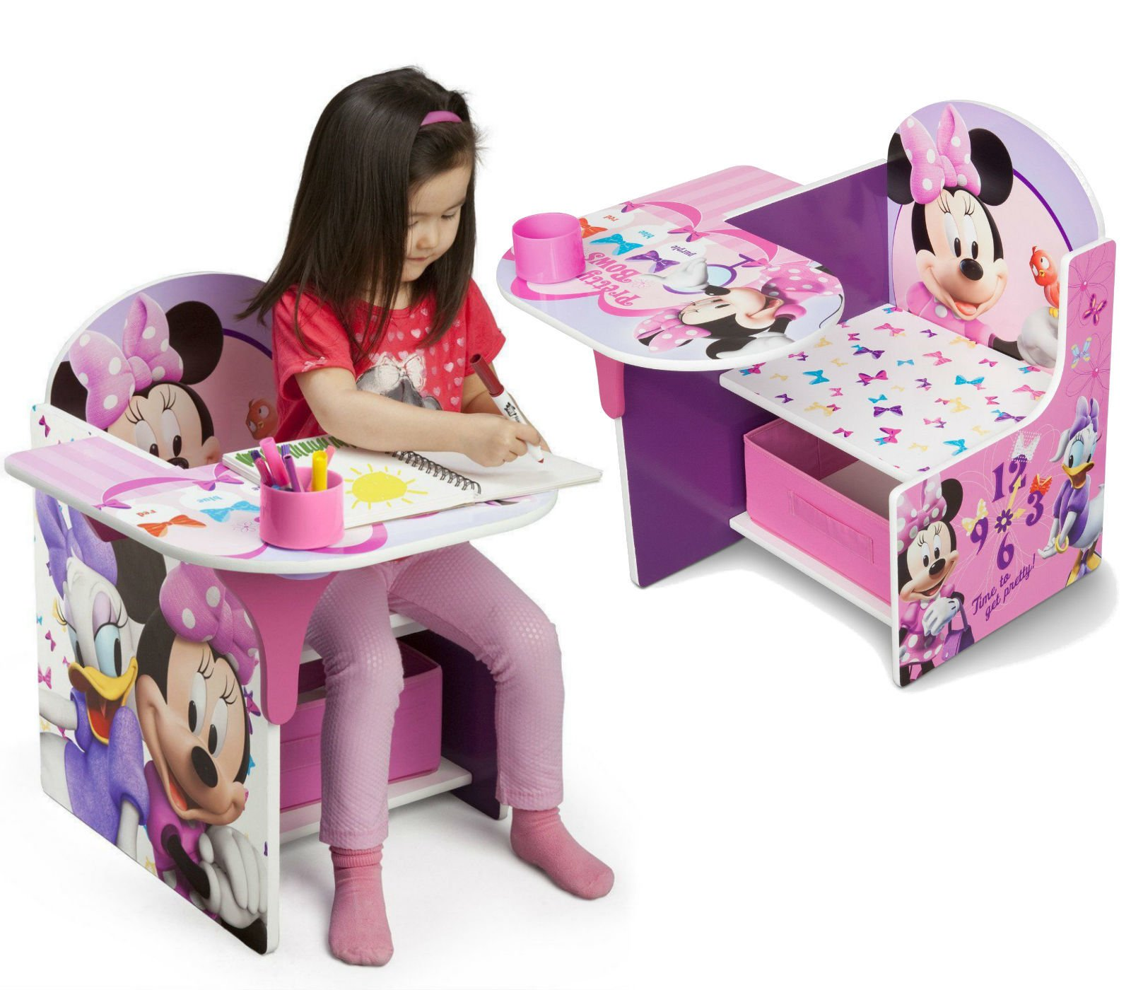 Delta Disney Krzesełko Ze Stolikiem Myszka Minnie Kaczka Daisy