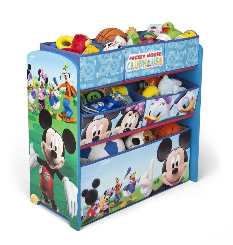 Disney myszka miki pojemnik organizer na zabawki zabawki for Mueble guarda juguetes