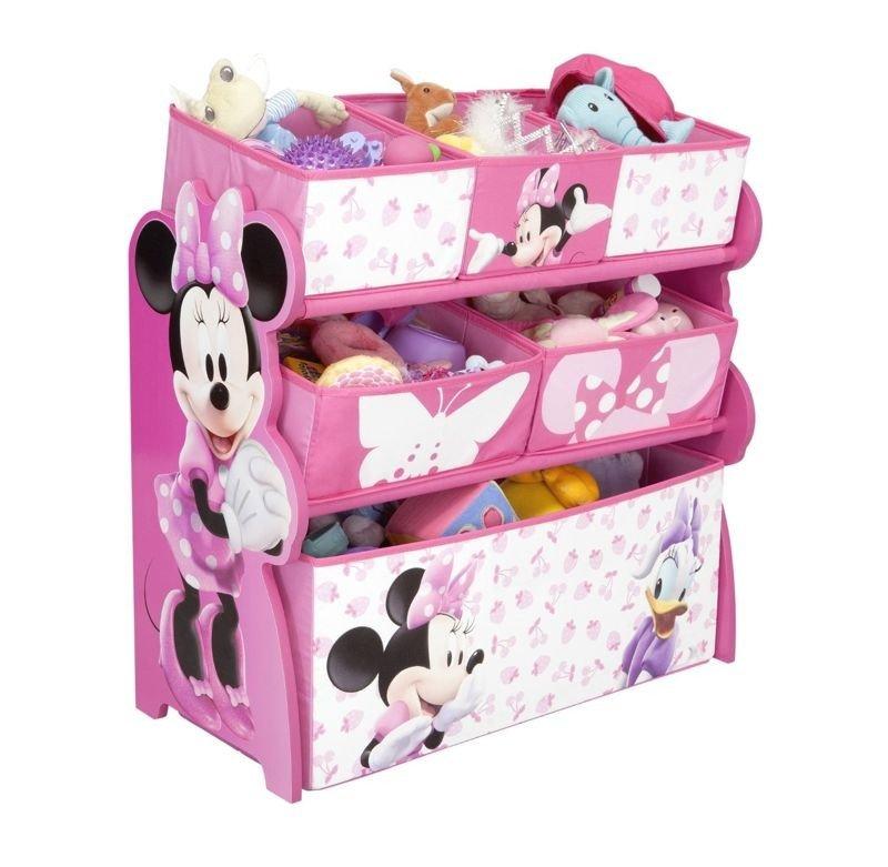 disney myszka minnie pojemnik organizer na zabawki zabawki pojemniki na zabawki akcesoria. Black Bedroom Furniture Sets. Home Design Ideas