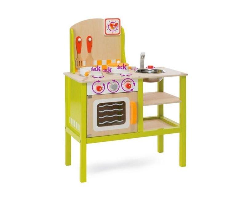 Eichhorn Drewniana kuchnia dla dzieci 2493  Zabawki   # Eichhorn Kuchnia Dla Dzieci