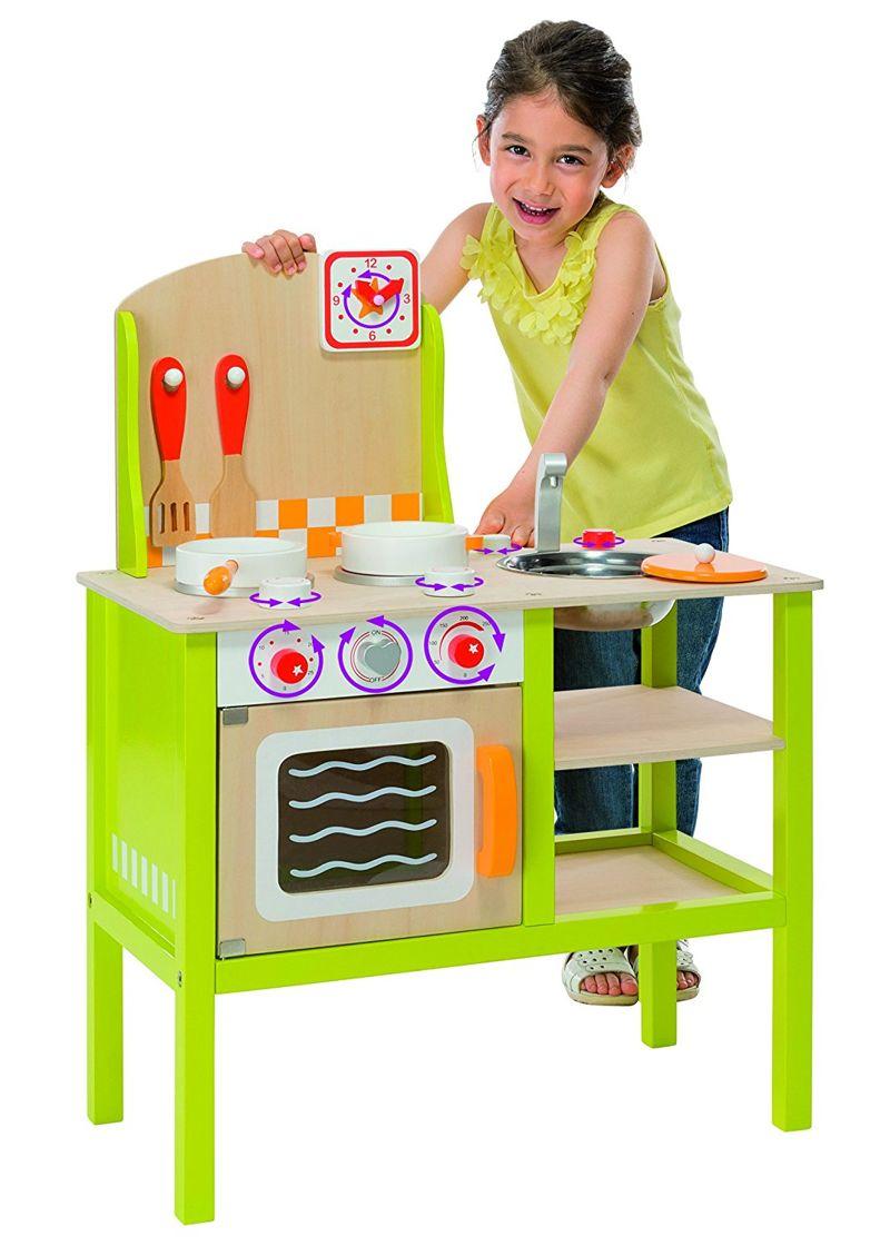 Eichhorn Drewniana kuchnia dla dzieci 2493  Zabawki