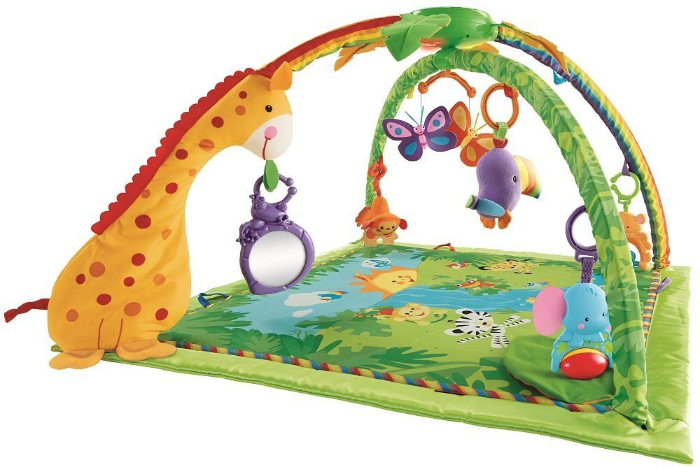 Fisher Price K4562 Rainforest Mata Edukacyjna Zabawki