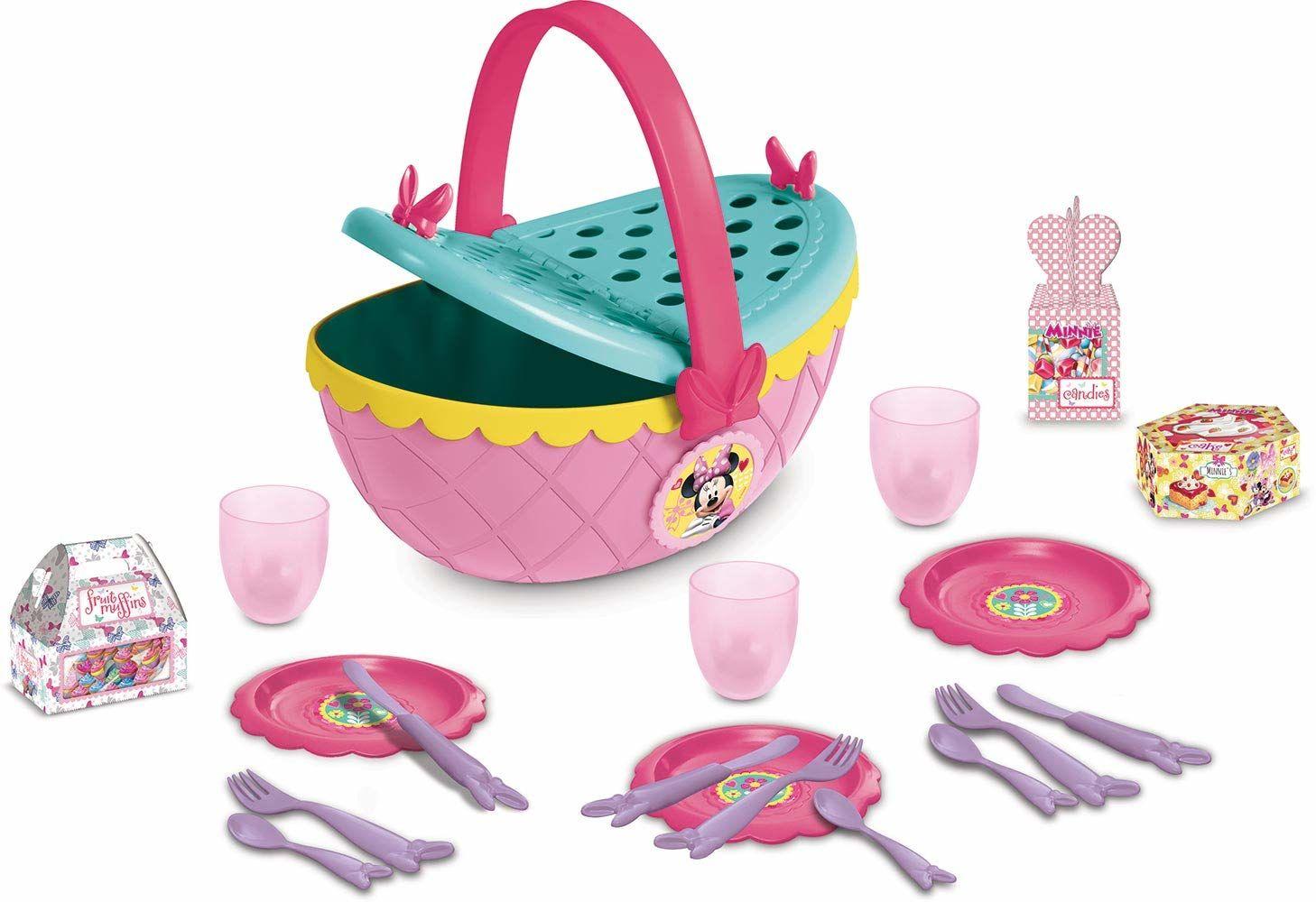Imc Toys Zestaw Koszyk Piknikowy Myszki Minnie Wraz Z Akcesoriami