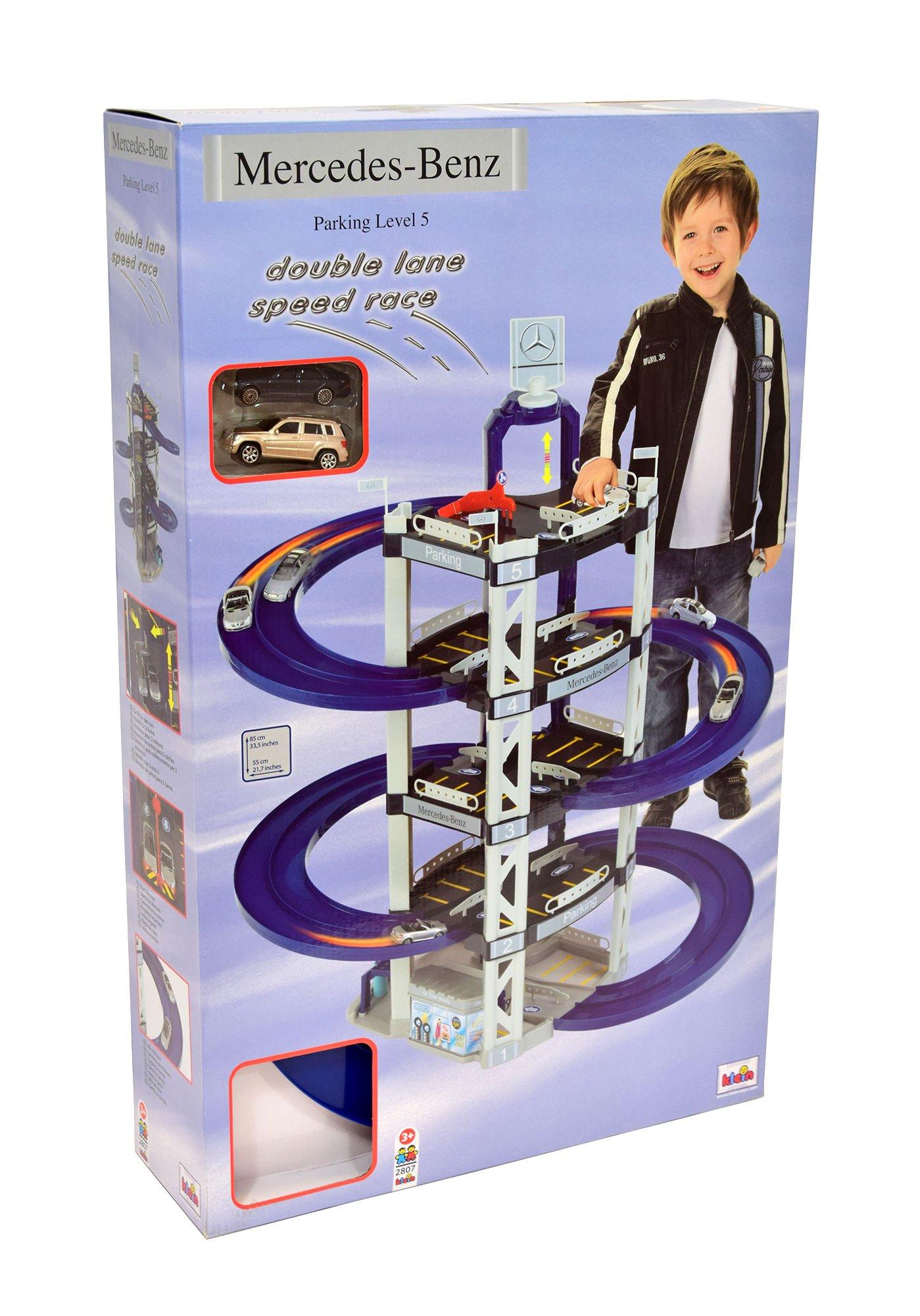 Klein 2807 parking gara mercedes 5 poziom w zabawki for Parking at mercedes benz superdome