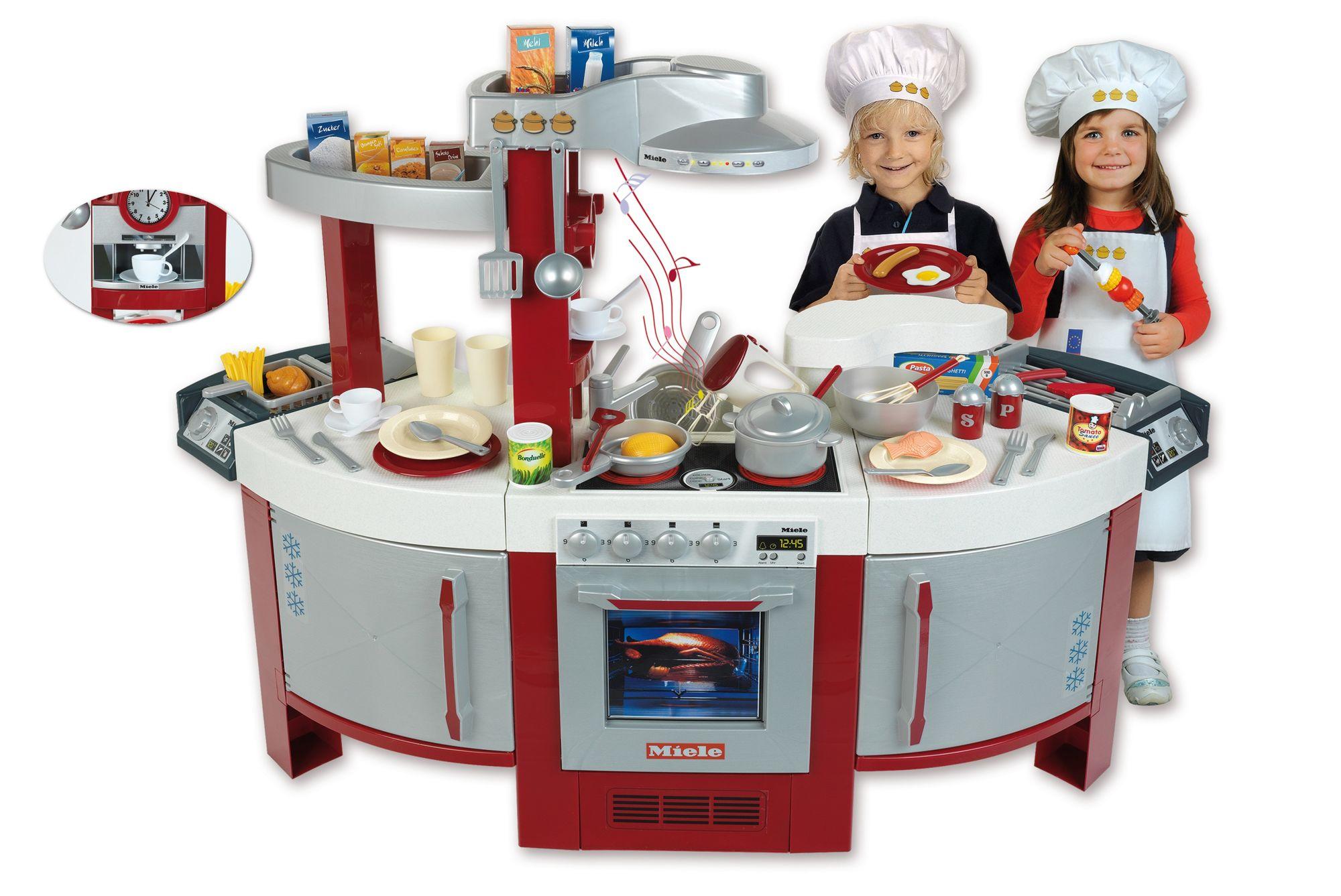 Klein 9125 Duża Elektroniczna Kuchnia Miele Z 57 Akcesoriami Numer 1