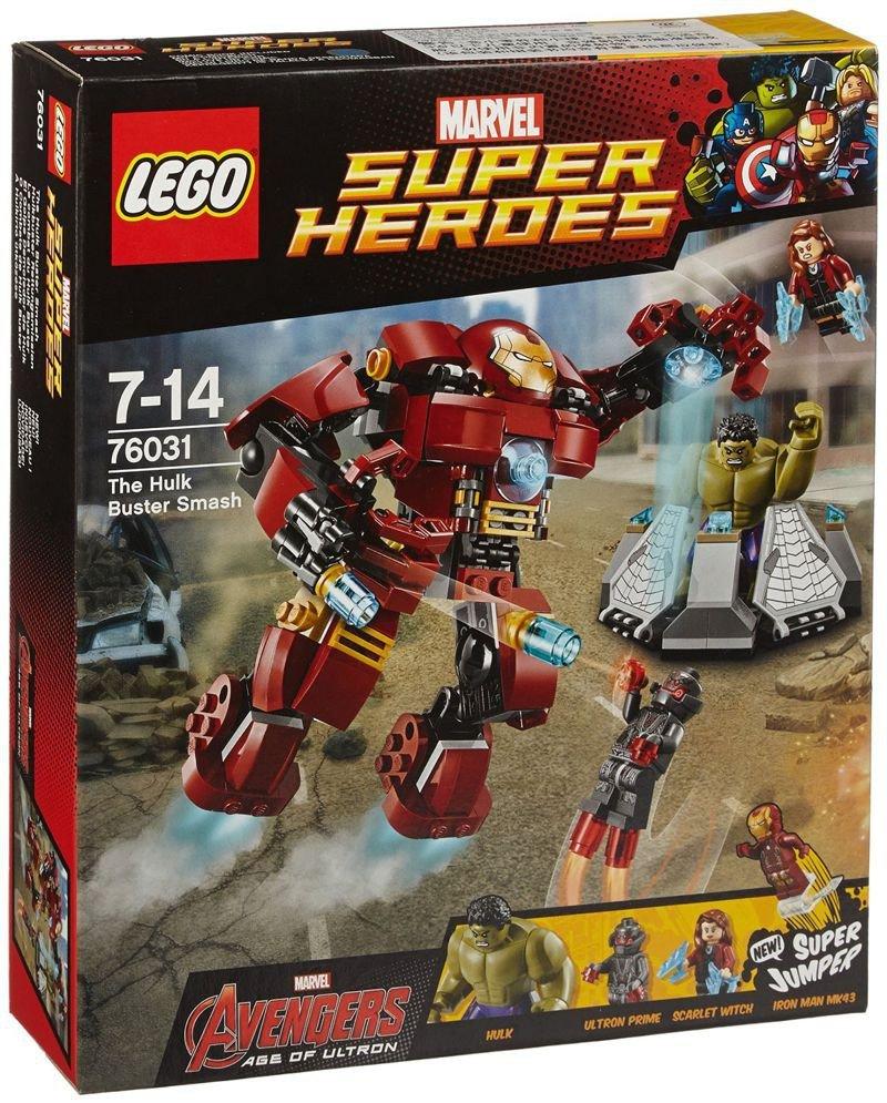 Marvel Super Heroes 60 Superhéroes: Klocki Lego Marvel Super Heroes Avengers 76031 Hulk Buster