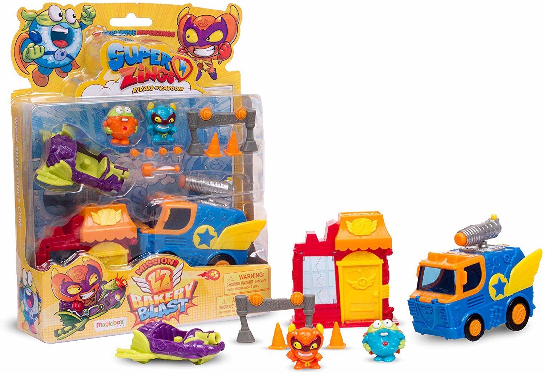 SUPERZINGS 6375 Mission Bakery Blast, 2 pojazdy i 2 figurki, zestaw (41826)