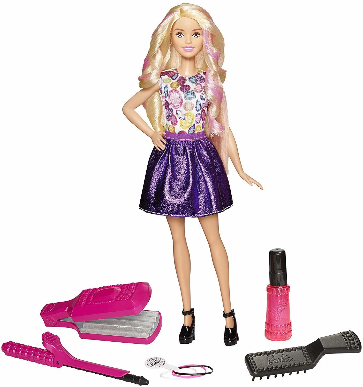 Mattel Dwk49 Lalka Barbie Zrób To Sama Fale I Loki