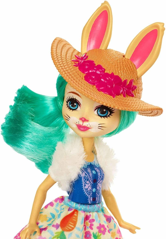 Mattel Enchantimals Rowerowi Przyjaciele Lalka Bree Bunny + Twist : Humbi.pl