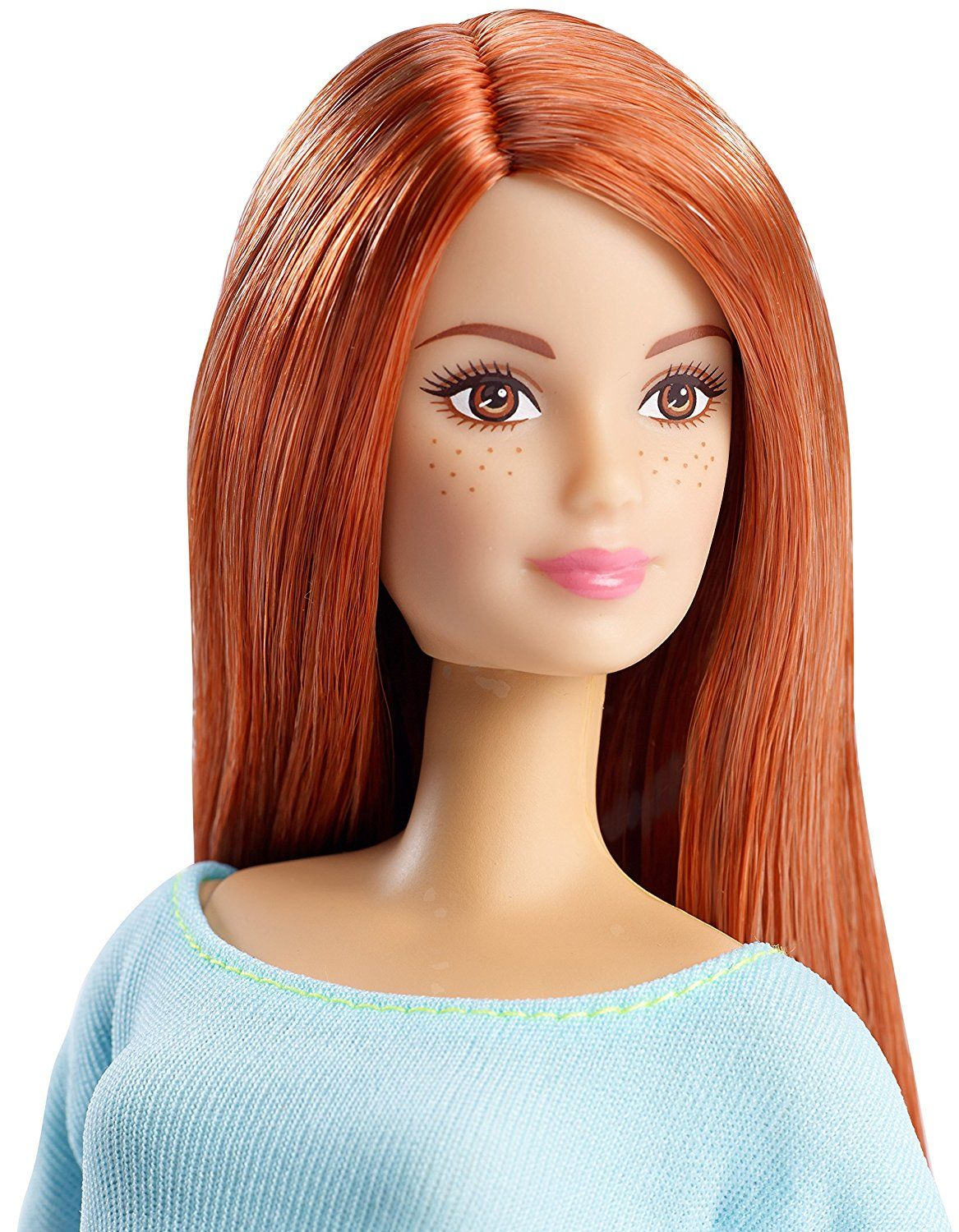 Mattel lalka barbie ruda made to move dpp74 zabawki for Top pictures