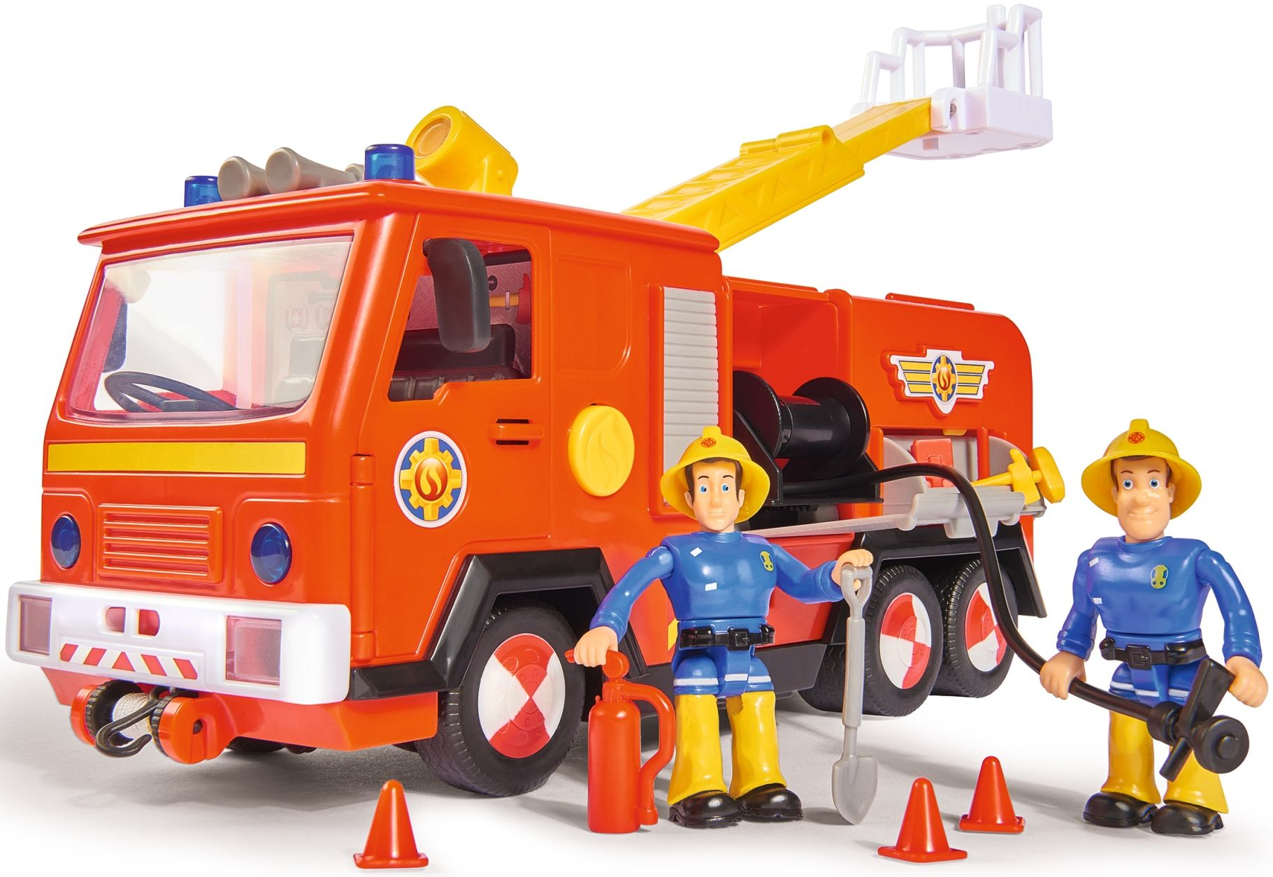 Góra Simba Strażak Sam Wóz strażacki Jupiter 2.0 Światło i dźwięk HZ11