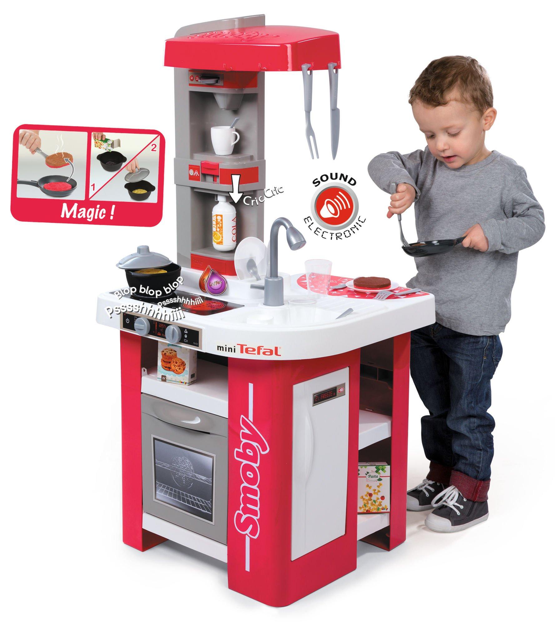 Smoby Kuchnia Mini Tefal Studio 311022 Zabawki Zabawki Agd 3 4