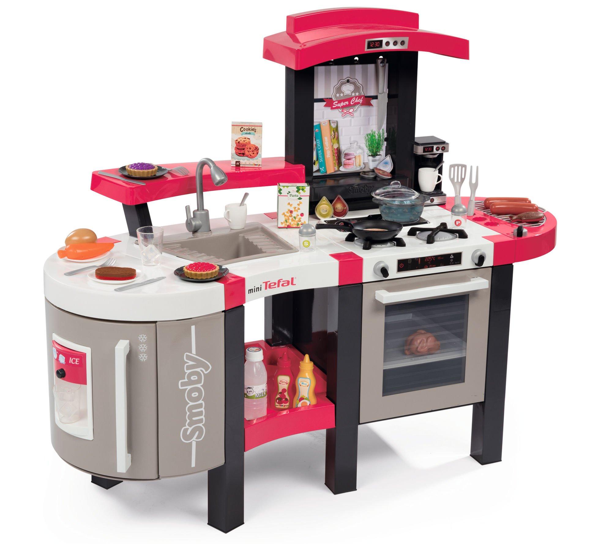 Smoby kuchnia mini tefal superchef de luxe 311304 for Cuisine smoby tefal