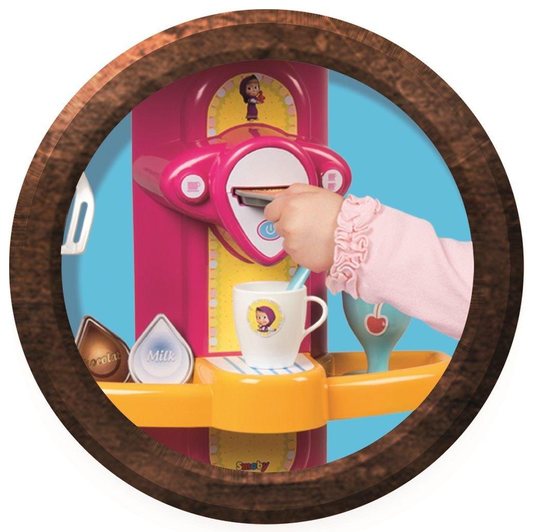 Smoby Masza I Niedźwiedź Kuchnia Dla Dzieci Z Akcesoriami