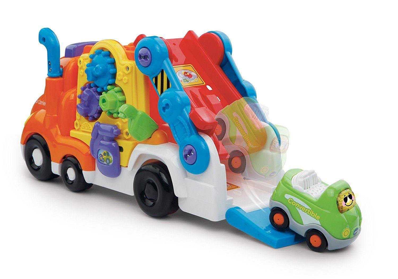 vtech tut tut autka autotransporter i autko van 60812. Black Bedroom Furniture Sets. Home Design Ideas