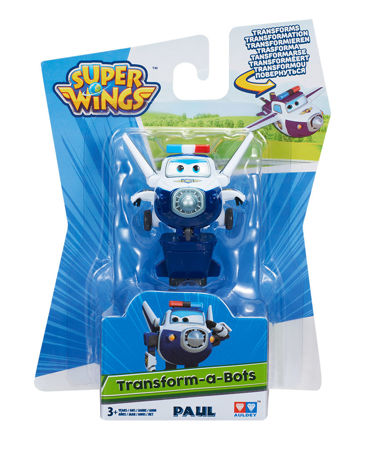 Figurka transformująca Trafik Paul Cobi Super Wings