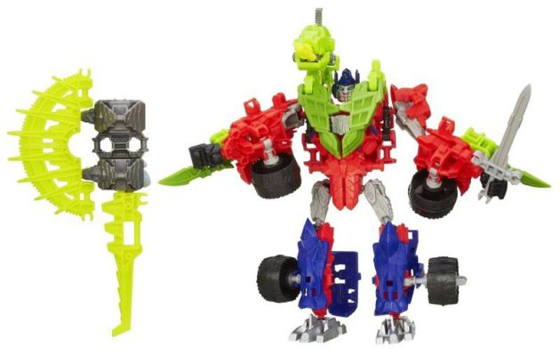 CONSTRUCT BOTS TRANSFORMERS 3w1 OPTIMUS PRIME Gnaw
