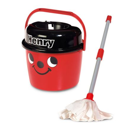 Casdon Wiaderko i mop Henry Little Helper