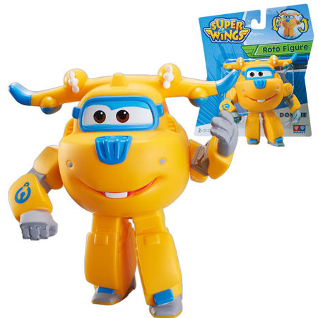 Cobi Super Wings Gumowa figurka Donnie Śrubek