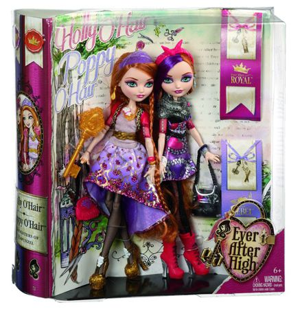Ever After High Siostry Holly i Poppy O'Hair BJH20