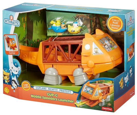 Fisher Price CDT32 Oktonauci Pojazd Gup-G