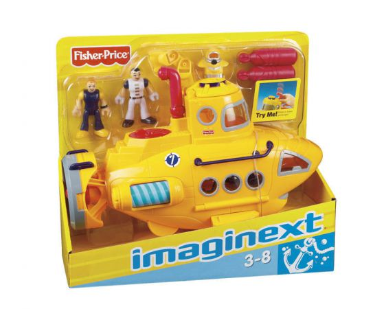 Fisher Price Imaginext Łódź Podwodna Submarine