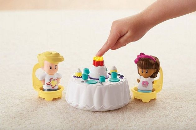 Fisher Price Zestaw Urodzinowy Little People