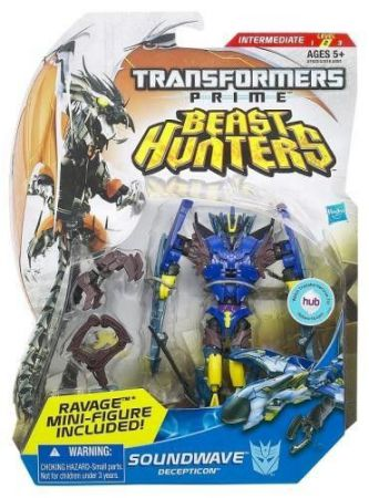 Hasbro Transformers Beast Hunters Soundwave A6392